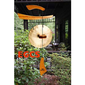 Wind Chime Chimes Emperor Gong Small, Natural