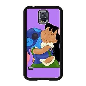 Samsung Galaxy S5 I9600 Original Cover Case with Creative Stitch Stitchs Anime Element,Stitch Stitchs Logo Cartoon Style Cell Phone Case