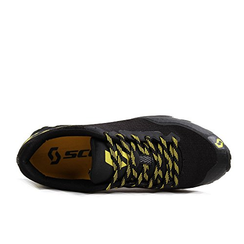 Scott running Zapatilla kinabalu rc-black/yellow-10,5 usa