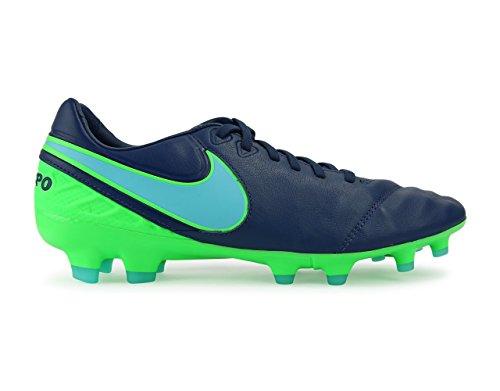 Nike Mens Tiempo Arv Ii Fg Kust Blå / Polariserad Blå / Ilska Grön Fotbollsskor