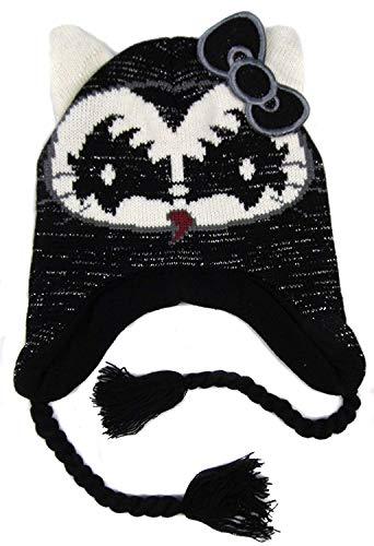 Hello Kitty Older Girls Kiss Peruvian Style Fleece Lined Hats Four Styles -