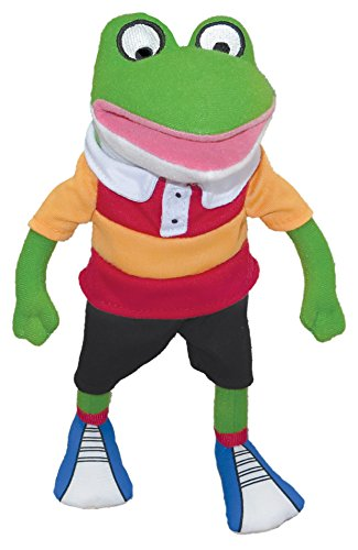 Plush Froggy - MerryMakers Froggy Plush Doll, 11-Inch