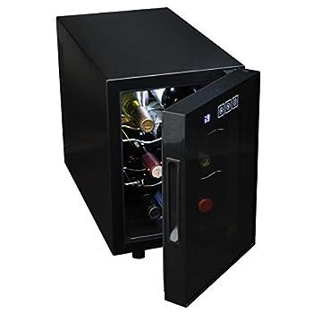 Image of Bar Tools & Drinkware Koolatron WC06 Wine Cellar (6 Bottle), Black