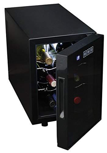 Koolatron Urban Series 6 Bottle Wine Cooler, Thermoelectric Wine Fridge, 0.65 cu. ft. Freestanding Wine Cellar for Small…