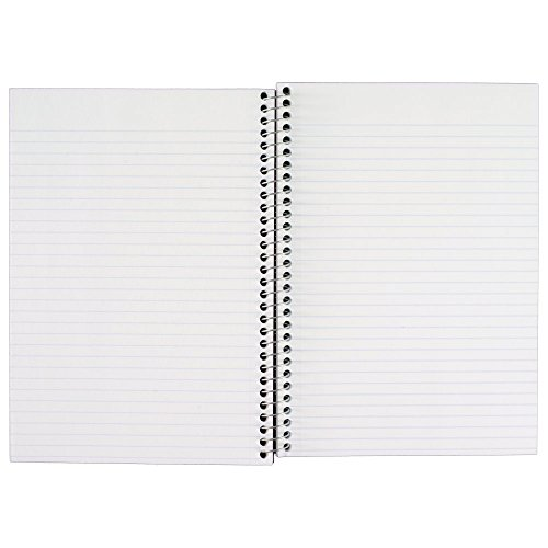 043100061809 - Five Star Wirebound Notebook, College Rule, 6 x 9-1/2, White, 100 Sheets/Pad (06180) carousel main 8