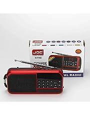 راديو ديجيتال محمول ببطارية يدعم اف أم & فلاش ميموري & كارت ميموري