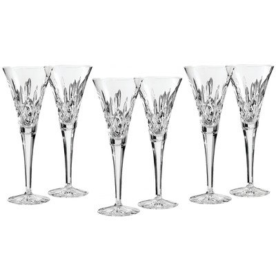 Lismore Toasting Champagne Flute (Set of 6) by Waterford