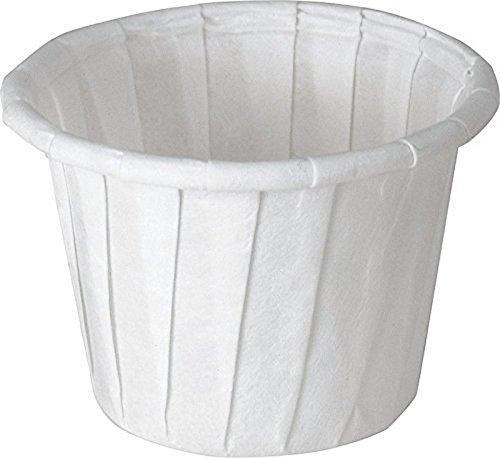 SOLO 075-2050 Paper Medicine Cups, 3/4 oz, 500 Box