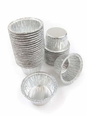 Disposable Aluminum Individual 2 Oz Foil Cups/ramekins. #S220 (100)