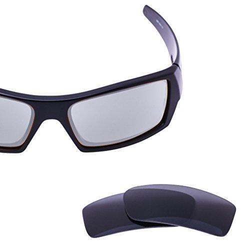 LenzFlip Oakley Gascan Lens Replacement - Gray Polarized Lenses