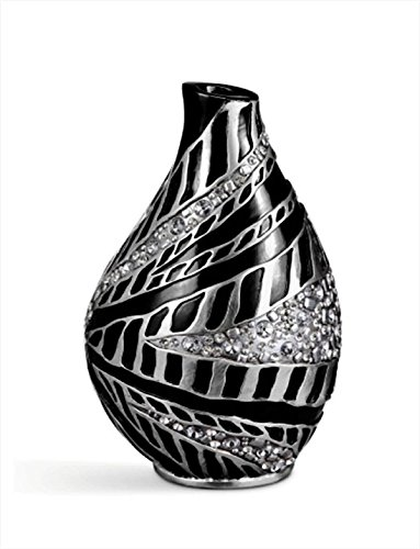 - ORE International K-4266V Stellaire Decorative Vase, 14-Inch Height