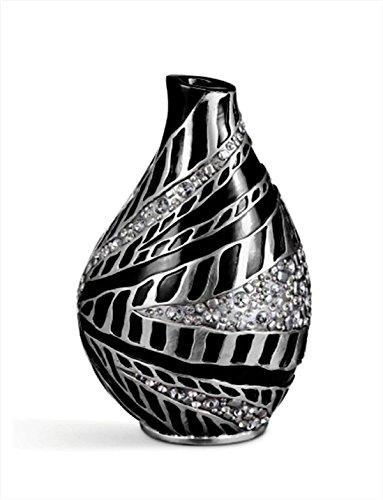 - Ore International K-4266V Stellaire Decorative Vase, 14-Inch Height