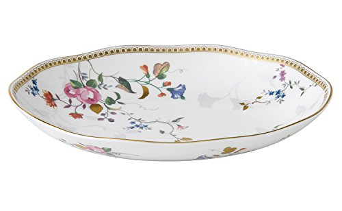 (Wedgwood Rose Gold Oval Dish Scallop, Multicolor)