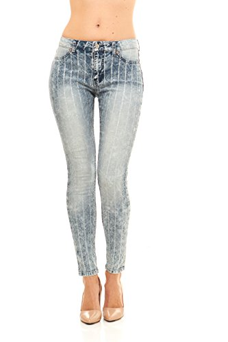 red-jeans-womens-painted-pin-stripe-faded-wash-jeans
