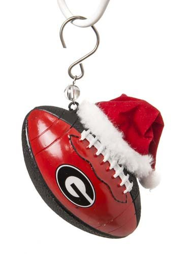University of Georgia Bulldogs Football Christmas Tree Ornament Holiday