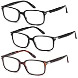 ALTEC VISION 3 Pack Fashion Readers Reading Glasses - 2.75x