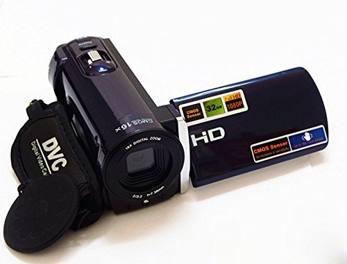 PowerLead Puto PLD002 16MP Digital Camcorder Camera DV Video Recorder Mini DV with 3.0″ Display 16x Digital Zoom