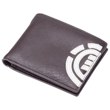 Element Daily Faux Leather Wallet in Eclipse Navy Billabong Tree