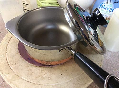 Vintage Revere 1 Qt. Saucepan DOUBLE BOILER Copper Clad With Lid