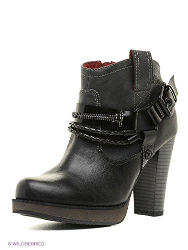 25 5 25329 Mulheres 001 Das Ankle Boots Sapatos Negras S oliver xwqAnUzH