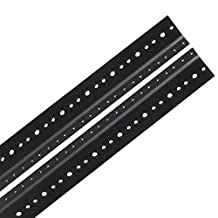 Reliable Hardware Company RH-6-SRR-A 6U Pair Full Hole Rack Rail