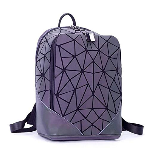 Amazon.com: 2018 Fashion Women Backpack PVC Geometric Luminous Travel Bags for School Back Pack Holographic Backpacks L8-176: Kitchen & Dining