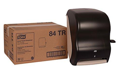 Tork 84TR Hand Towel Roll Dispenser, Lever Auto Transfer, Plastic, 15.5