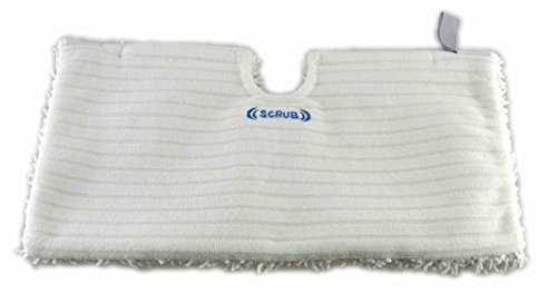 Astar for Shark Replacement Microfiber Scrubbing Steam Pocket Pads Reusable Washable Refills, Compatible with Steam Pocket Mop, Lift-Away Pro, S3601 & More! (2) by Astar
