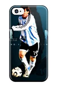 Iphone Case - Tpu Case Protective For Iphone 6 Plus 5.5- Lionel Messi Wide Background