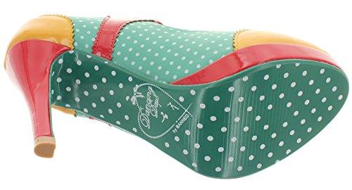 para Dancing de de Days Sintético Multicolor mujer vestir Material Zapatos multicolor n11BrR0