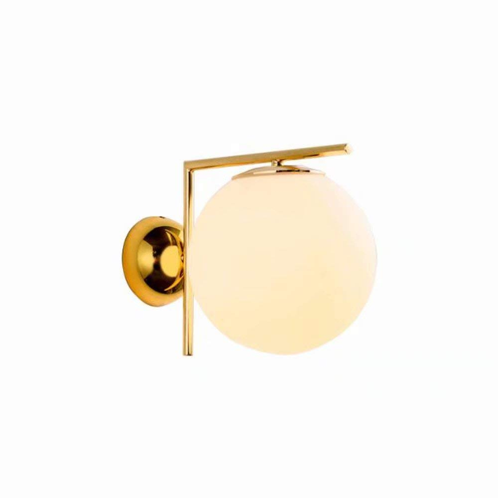 Moderne Runde SphäRische Wandlampe Ganglichter Nordische Einfache Persönlichkeit Wohnzimmer Auge Wand Lampe Mode Schlafzimmer LED-Lampen