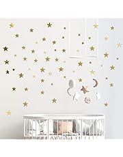 60 stuks acryl ster spiegel muurstickers DIY zelfklevende 3D Pentagram muursticker 3 verschillende grootte geschenken pakket voor kinderkamer slaapkamer woonkamer thuis wanddecoratie