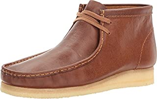 CLARKS Men's Wallabee Boot Tan Tumbled Leather Boot (B01JM4EJNS) | Amazon price tracker / tracking, Amazon price history charts, Amazon price watches, Amazon price drop alerts