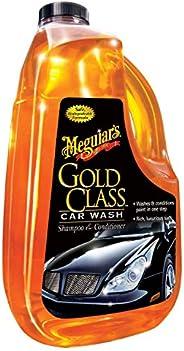 Meguiar 's oro clase para lavado de coche, Champú y acondicionador para lavar carro, 64 oz (1.8