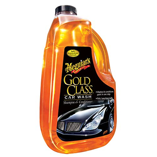 MEGUIAR'S G7164 Gold Class Car Wash Shampoo & Conditioner, 64. Fluid_Ounces (Car Soap)
