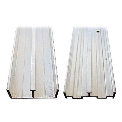 1/2'' X 48'' Aluminum Sliding Door Track