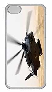 Customized iphone 5C PC Transparent Case - War Helicopters 1 Personalized Cover