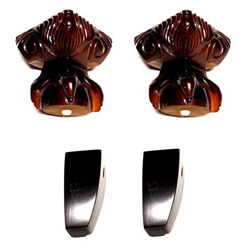 Ball & Claw Queen Anne Wood Legs Sofas Love Seats Chairs 4 Legs