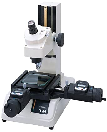 Mitutoyo 176-808A Toolmaker's Microscope with Digimatic Micrometer Heads, 30X Magnification