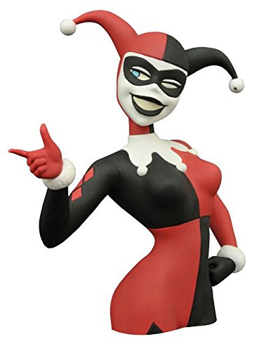 Diamond Select Toys - Batman: The Animated Series: Harley Quinn Bust Bank - Multi OCT152188