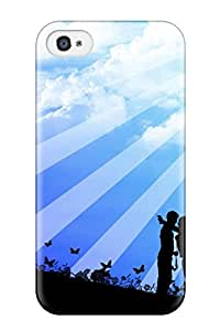 Quality AnnaSanders Case Cover With Love Artistic Abstract Artistic Nice Appearance Compatible With Iphone 4/4s