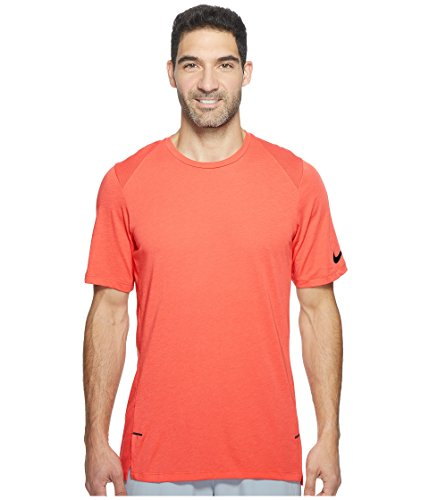 Nike New Men's Breathe Elite Basketball Top Track Red 830949 602 (m) ()