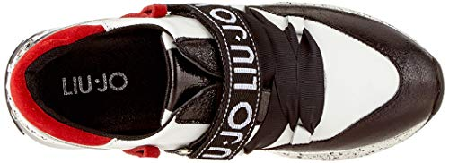 red black 1s19a white Jo Karli Jeans Mehrfarbig Bambina Liu Sneaker W81TqwwR