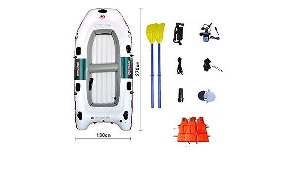 Sgs-b Hinchable Kayak, Kayak Inflable para 4 Personas, Bote ...