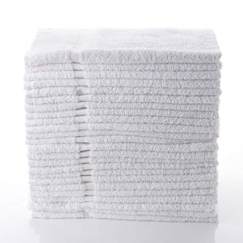 Magic Spa - Simpli-Magic 79149 White Hand Towels (12 Pack) 16