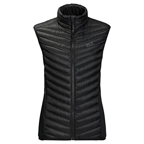 Jack Wolfskin Women's Atmosphere Vest, Black, Medium ()