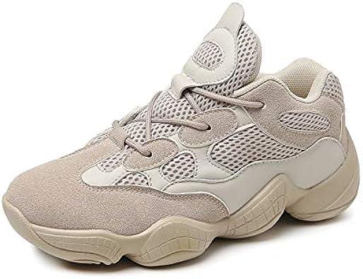 YZWD Zapatillas Padel Hombres Gimnasio Running Zapatos Zapatillas De Deporte Transpirables Netas Para Hombres Y Mujeres Zapatillas De Deporte Con Suela Gruesa Para Estudiantes 6 A: Amazon.es: Zapatos y complementos