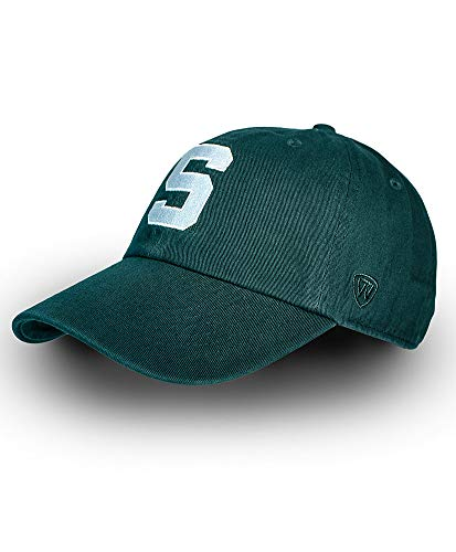Elite Fan Shop Michigan State Spartans Hat Icon Green - Adjustable - Forest