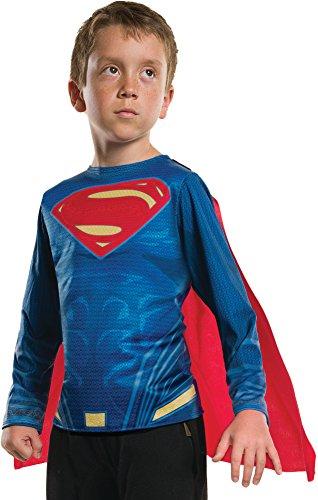 Rubie's Costume Boys Justice League Superman Top Costume, Small, Multicolor ()