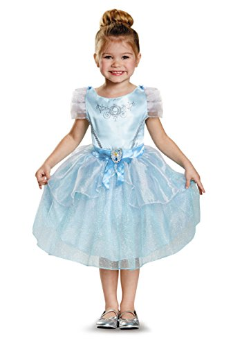 Classic Gypsy Costumes (Cinderella Toddler Classic Costume, Medium (3T-4T))